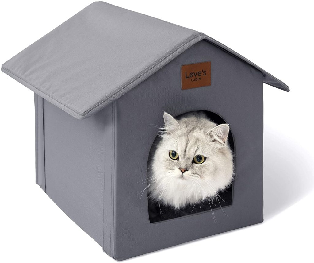Love's Cabin Outdoor Cat House Weatherproof