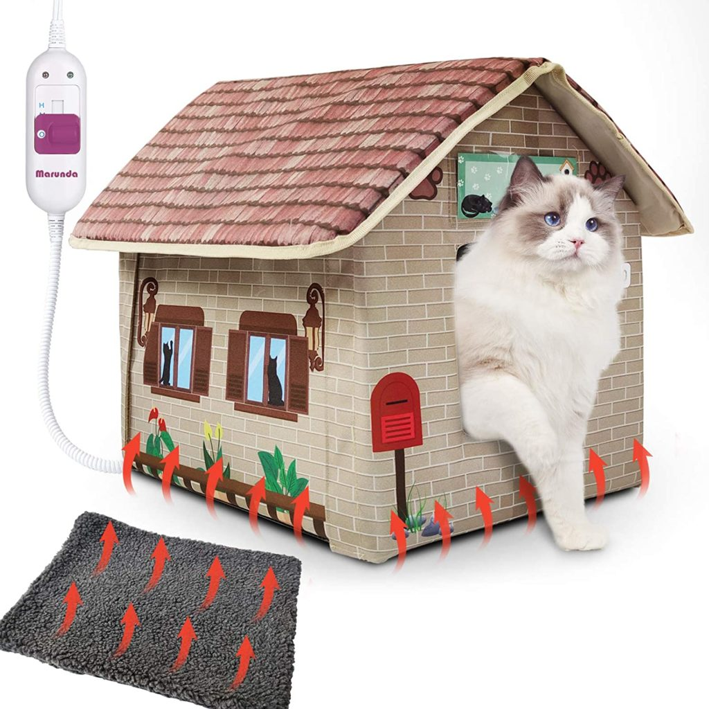 Marunda Heated Cat Houses